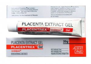 Placenta Extract Gel, экстракт плаценты и Азот, 20 гр.