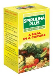 «Spirulina plus with Amla»,  «Спирулина с амлой»